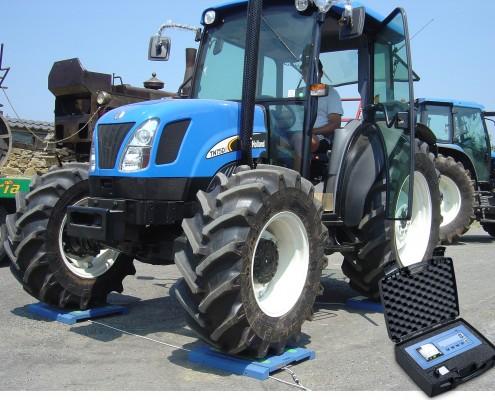 Fahrzeugwaage Traktor