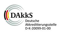 DAkkS Deutsche Akkreditierungsstelle D-K-20099-01-00